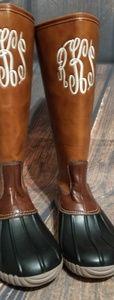Monigrammbale rain boots